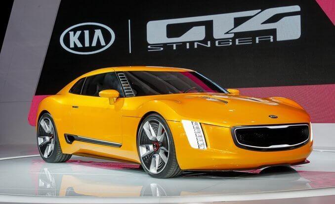 Kia Concept Cars - GT4 Stinger
