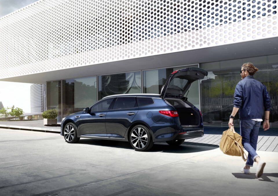Optima Sportswagon - Azul