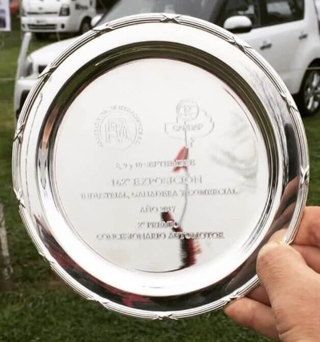 2º premio en Concesionario Automotor - Expo Tres Arroyos