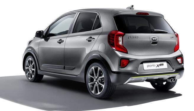 Kia Picanto X-Line - Vista trasera - Kia Car Bureau