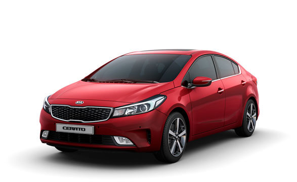 Kia Cerato Sedan - Firely Red