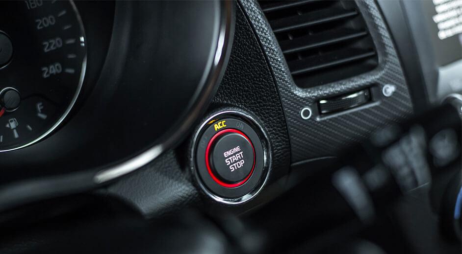 Cerato Sedan Interior - Start Boton