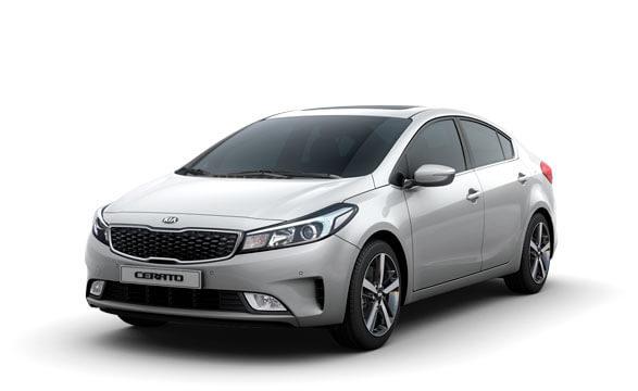 Kia Cerato Sedan - Silky Silver