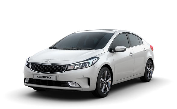 Kia Cerato Sedan - Snow White Pearl