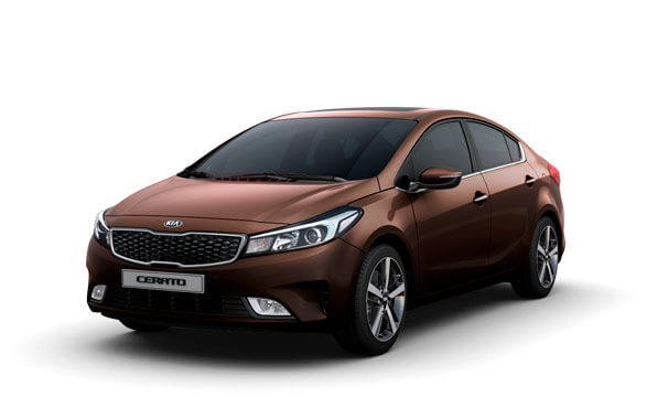 Kia Cerato Sedan - Titanium Brown