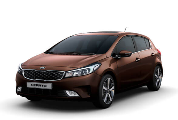 Kia Cerato Hatchback - Titanium Brown