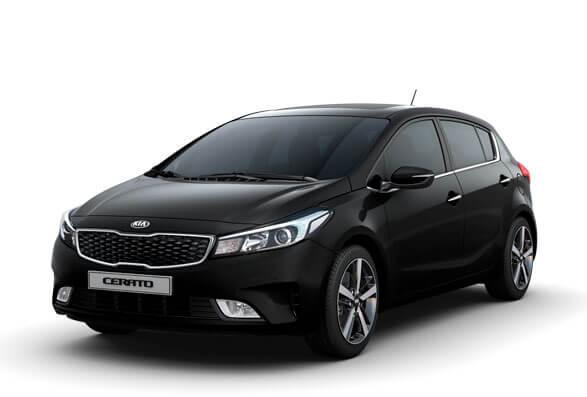 Kia Cerato Hatchback - Aurora Black
