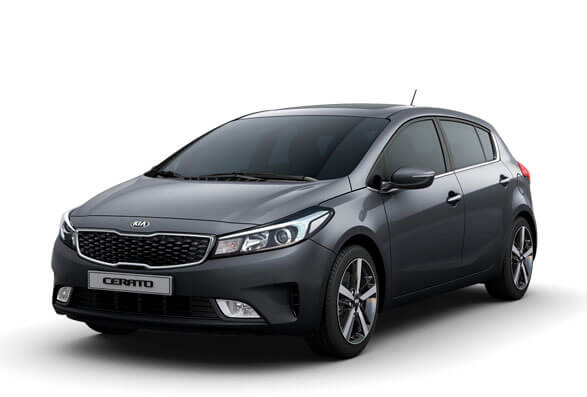 Kia Cerato Hatchback - Planet Blue