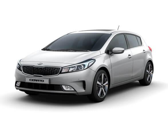 Kia Cerato Hatchback - Silky Silver