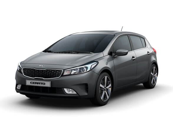 Kia Cerato Hatchback - Urban Grey