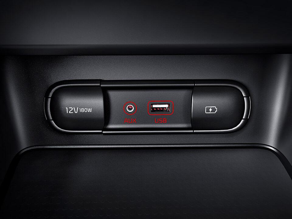 Car Bureau - Nuevo Kia Cerato - Interior - AUX y USB