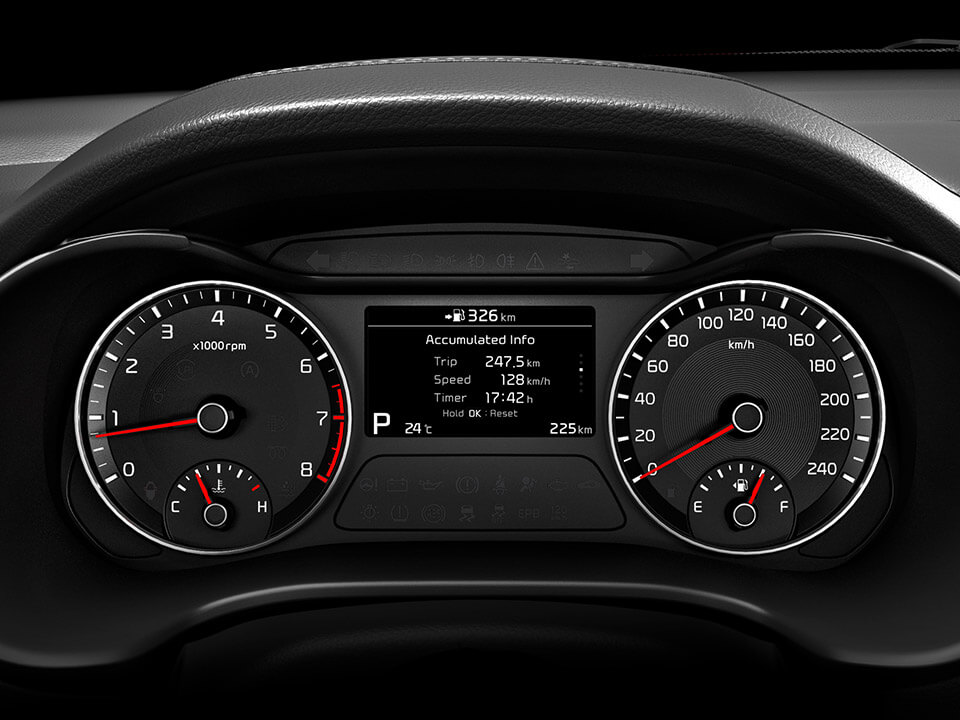 Car Bureau - Nuevo Kia Cerato - Interior - Tablero
