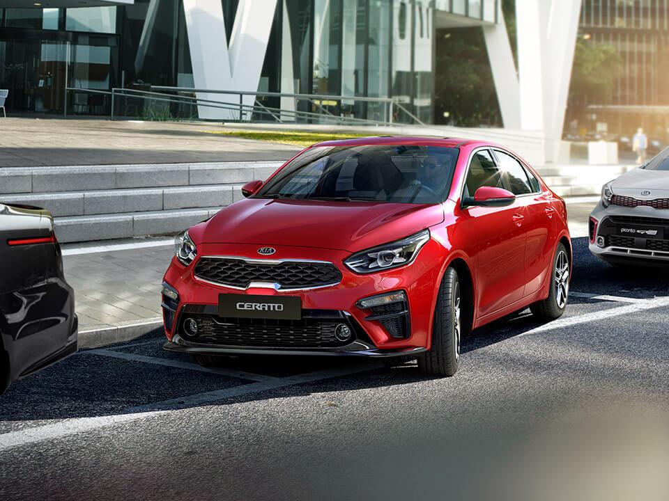 Car Bureau - Nuevo Kia Cerato - Performance - Detector de Estacionamiento