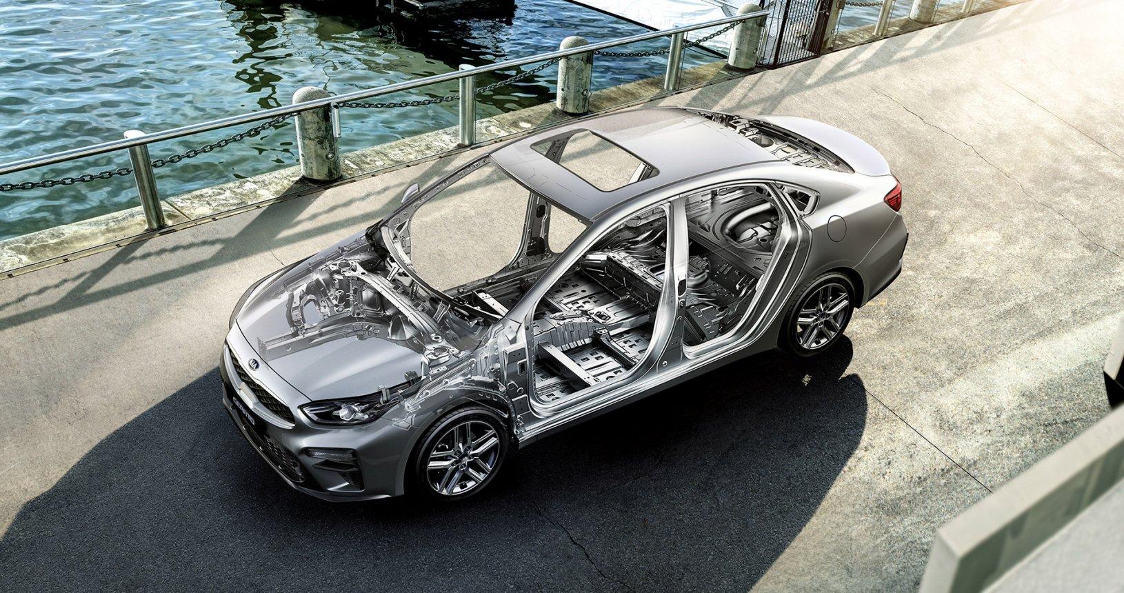 Car Bureau - Nuevo Kia Cerato - Performance - Estructura