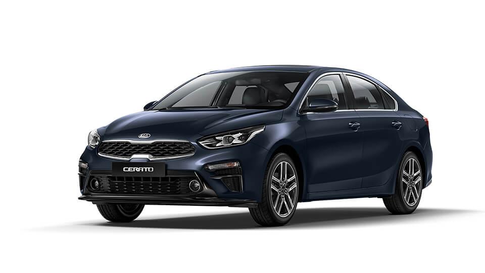 Kia Car Bureau - Cerato GT - Gravity Blue