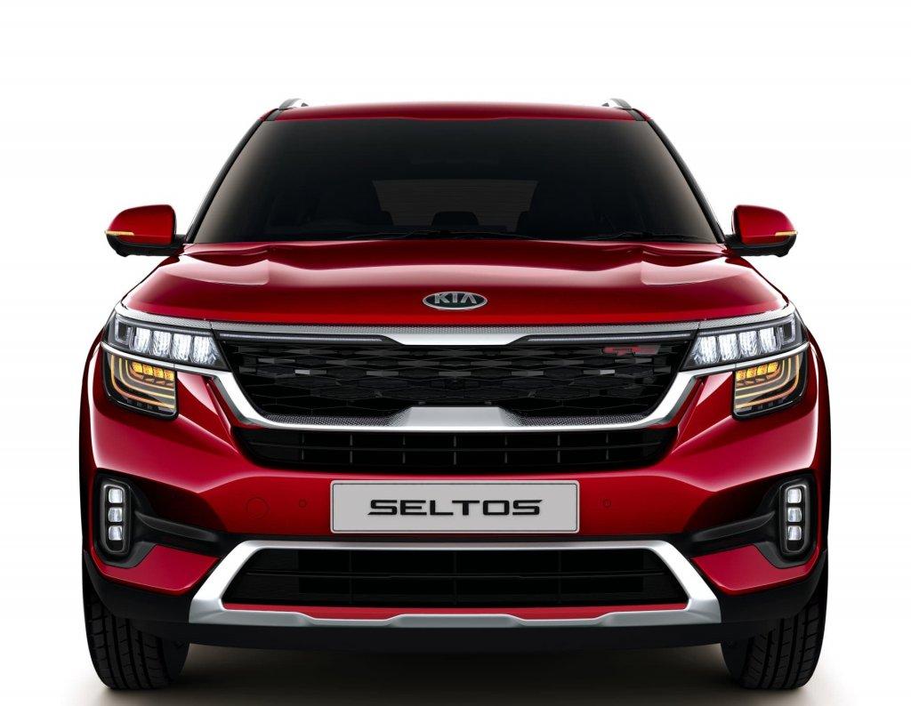 Seltos-SUV-Rojo-Vista Frontal