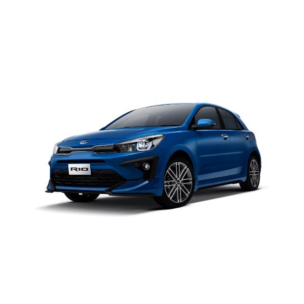 Car Bureau - Kia Rio 2021 - Azul